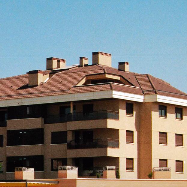 64 viviendas y garaje