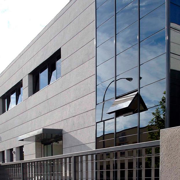 Edificio para industria médica