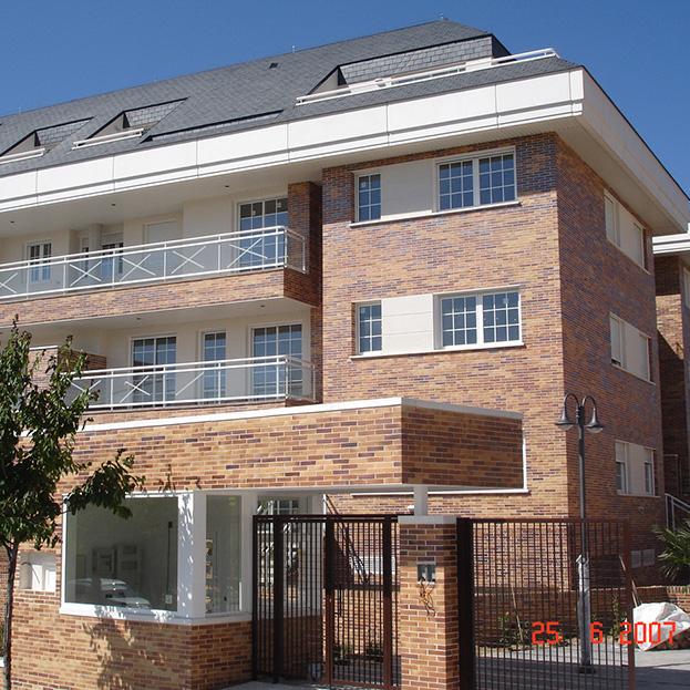 28 viviendas, garaje y zonas comunes