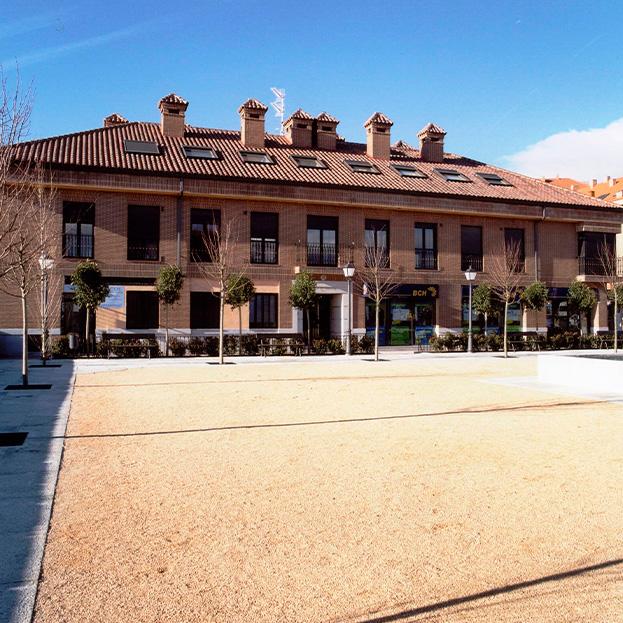 Intervención en casco histórico. Edificio Puerta Boadilla
